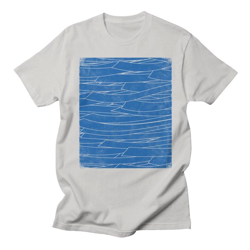Deep Blue Men's T-Shirt by bulo