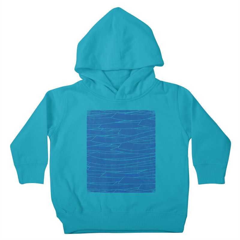 Deep Blue Kids Toddler Pullover Hoody by bulo