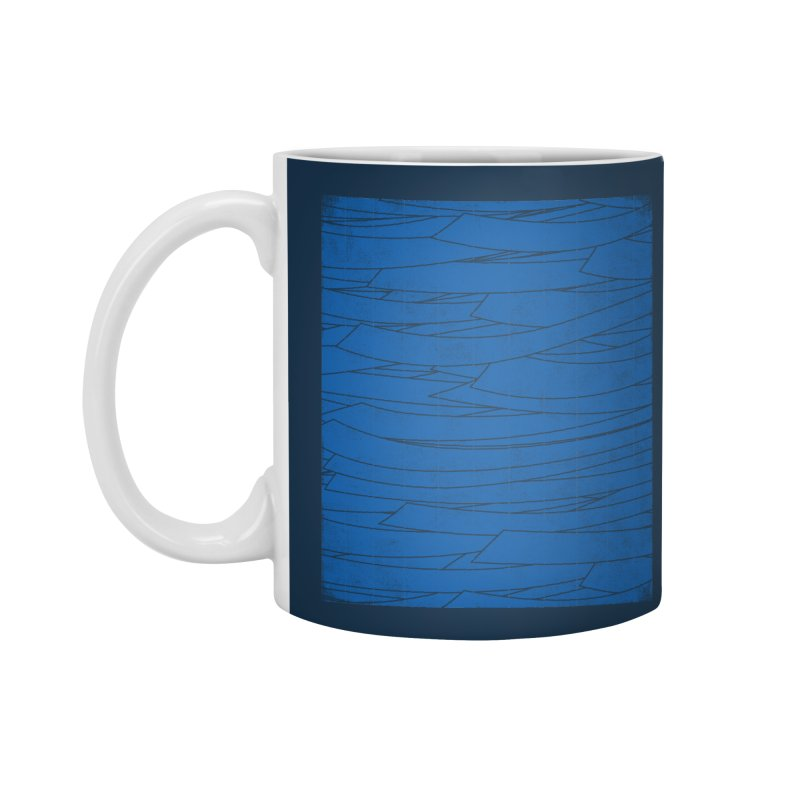 Deep Blue Accessories Mug by bulo