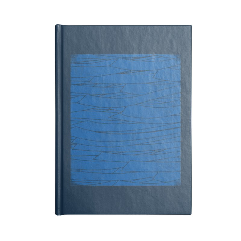 Deep Blue Accessories Notebook by bulo