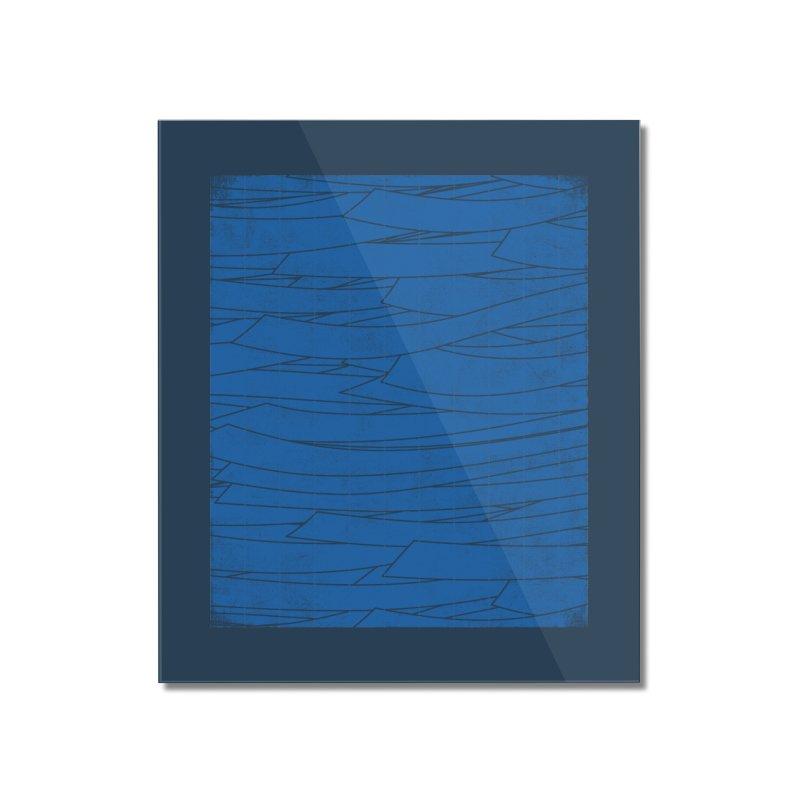 Deep Blue Home Mounted Acrylic Print by bulo