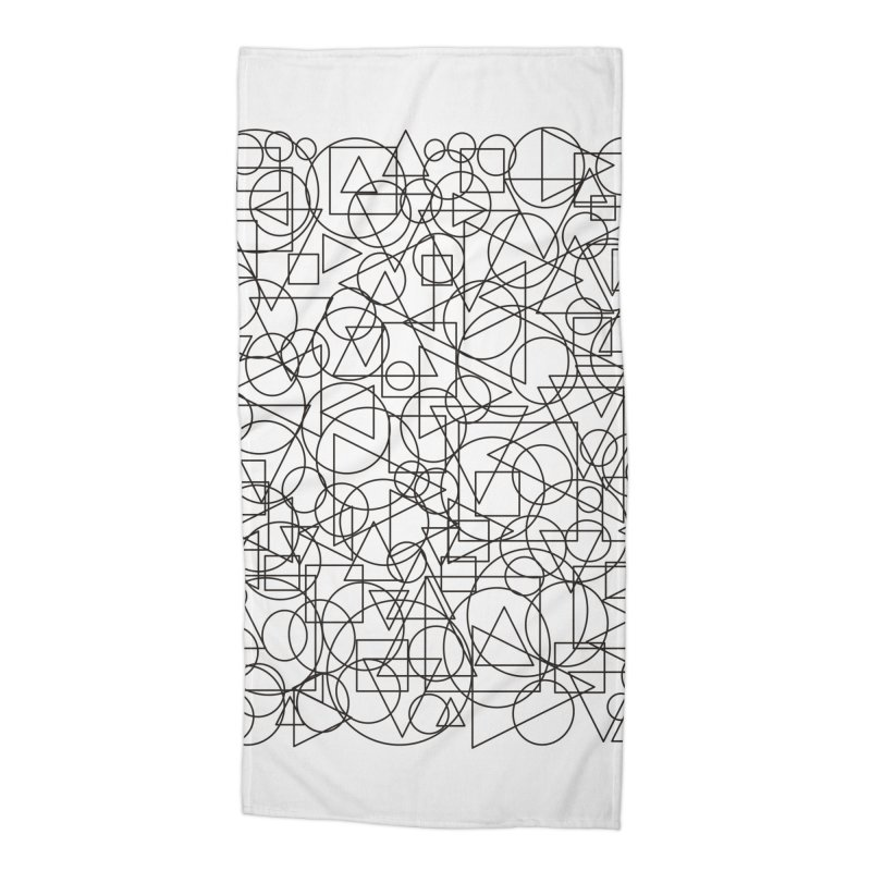 Simple Chaos Accessories Beach Towel by bulo