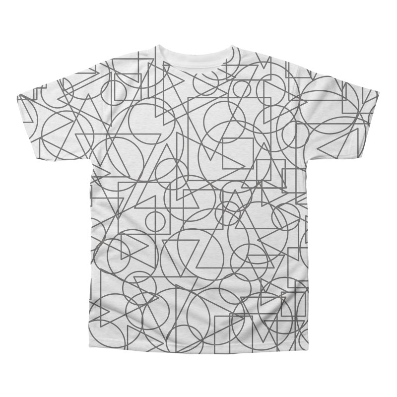 Simple Chaos Men's Triblend All Over Print by bulo