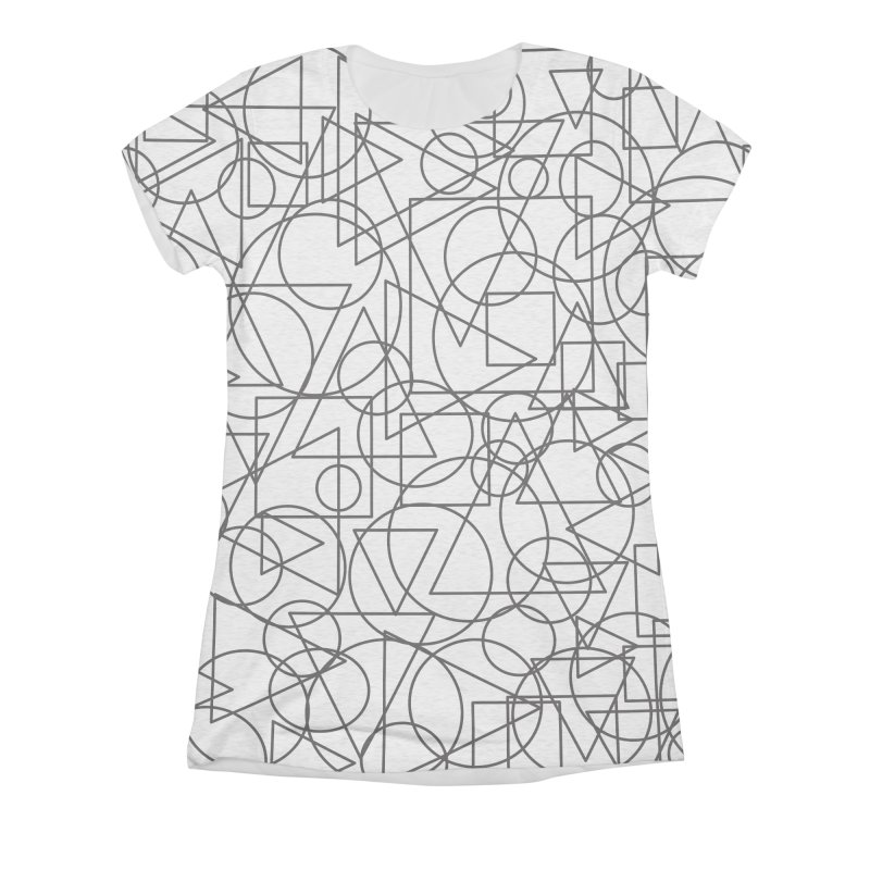 Simple Chaos Women's Triblend All Over Print by bulo