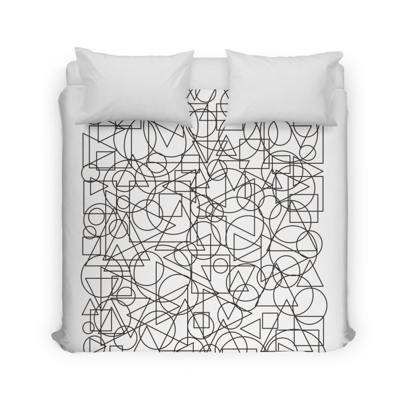 Simple Chaos Home Duvet by bulo