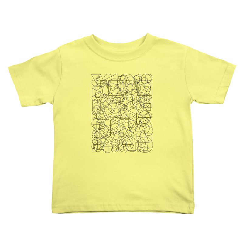 Simple Chaos Kids Toddler T-Shirt by bulo