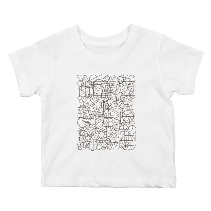 Simple Chaos Kids Baby T-Shirt by bulo