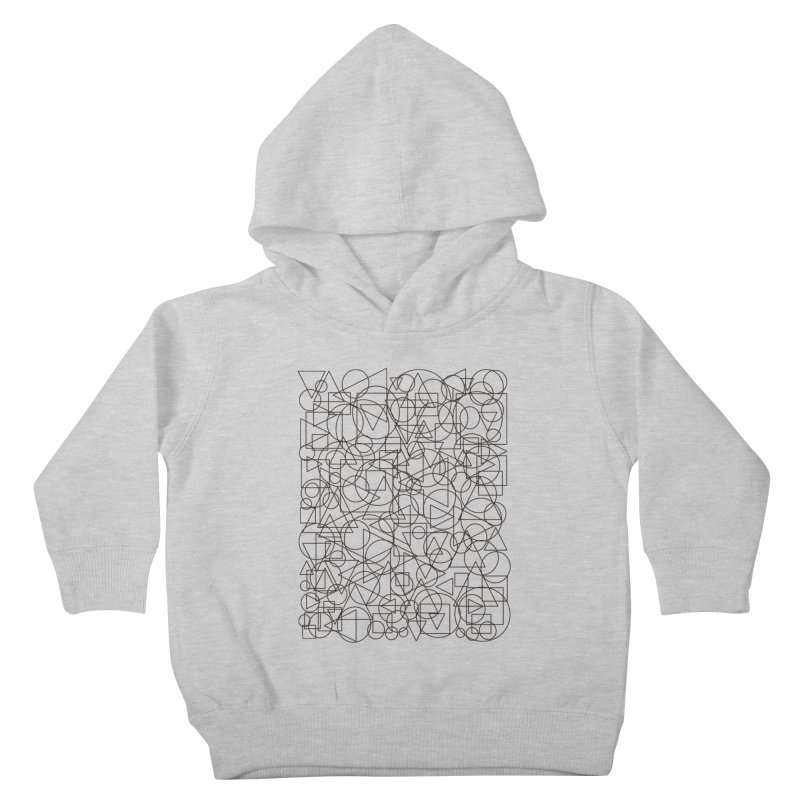 Simple Chaos Kids Toddler Pullover Hoody by bulo
