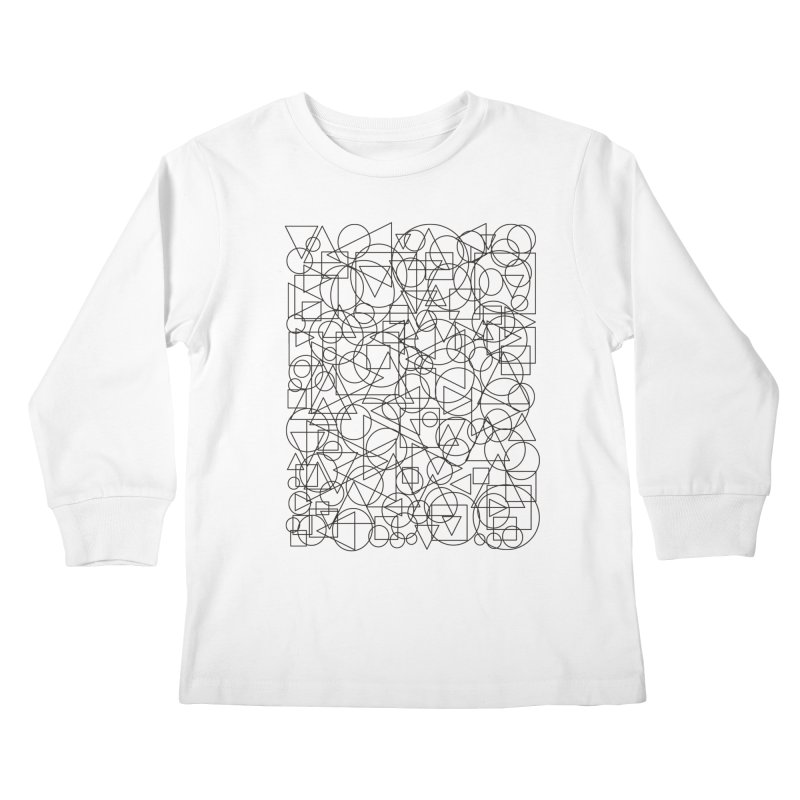 Simple Chaos Kids Longsleeve T-Shirt by bulo