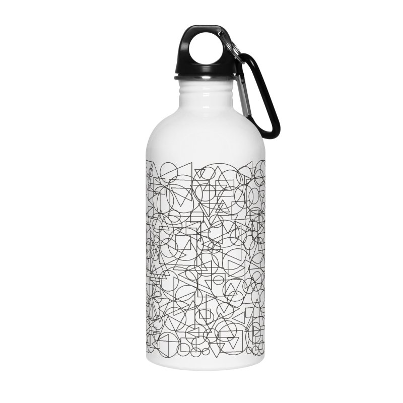Simple Chaos Accessories Water Bottle by bulo