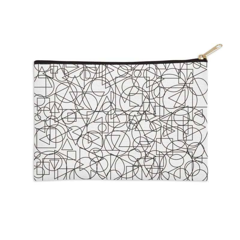 Simple Chaos Accessories Zip Pouch by bulo
