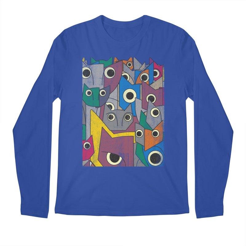 Cubicats Mix Men's Longsleeve T-Shirt by bulo