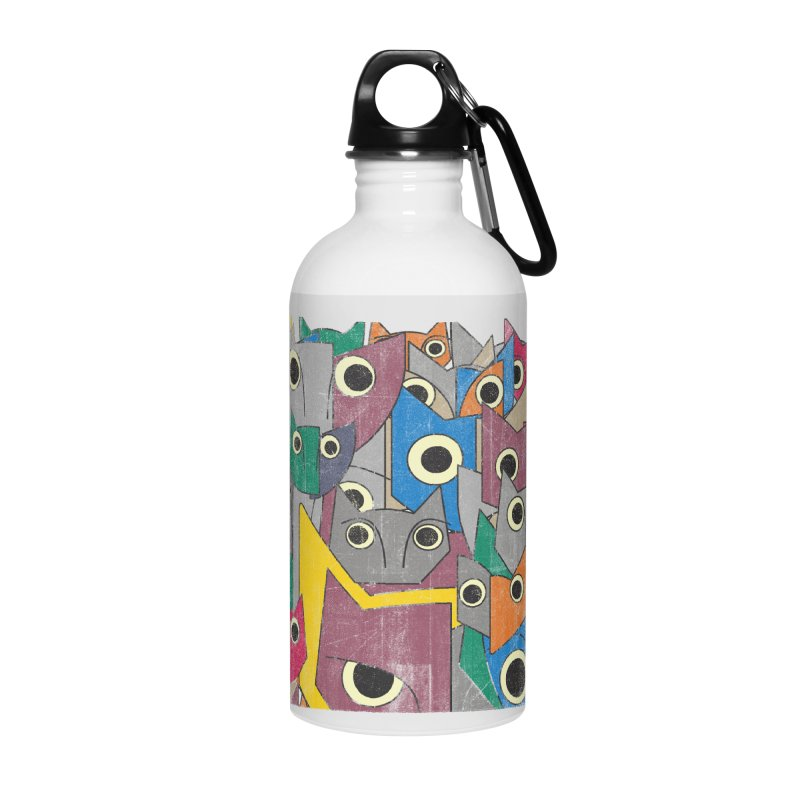 Cubicats Mix Accessories Water Bottle by bulo