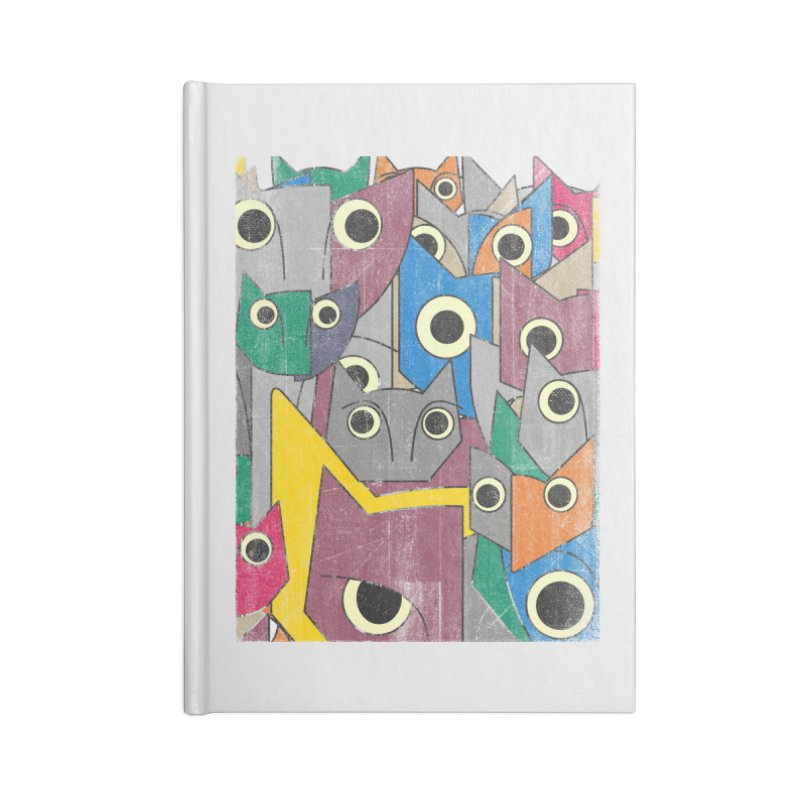 Cubicats Mix Accessories Notebook by bulo