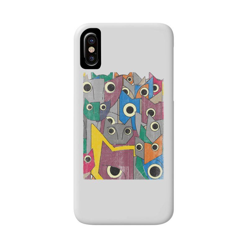 Cubicats Mix Accessories Phone Case by bulo