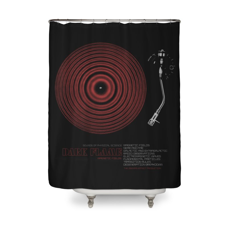 Dark Flame Home Shower Curtain by bulo