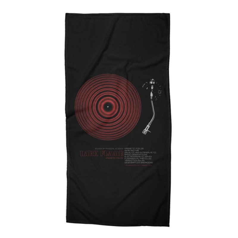 Dark Flame Accessories Beach Towel by bulo