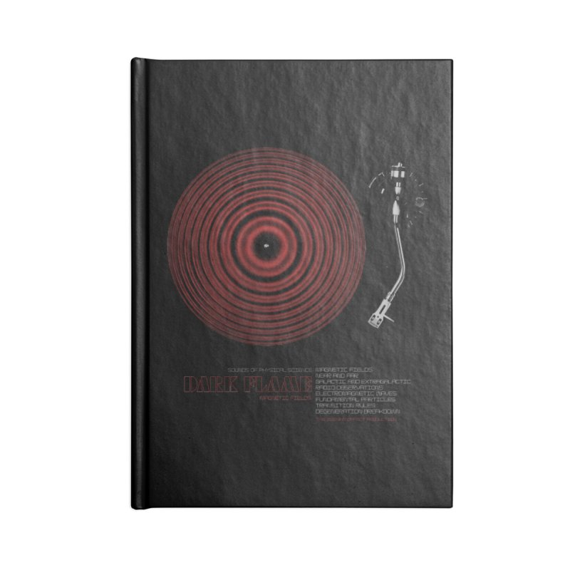 Dark Flame Accessories Notebook by bulo