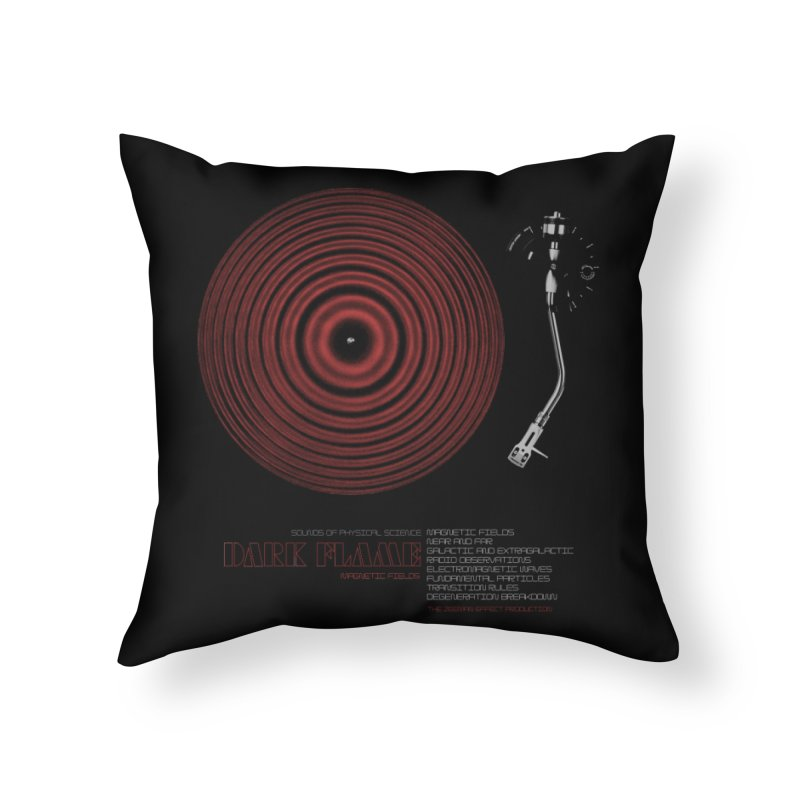 Dark Flame Home Throw Pillow by bulo