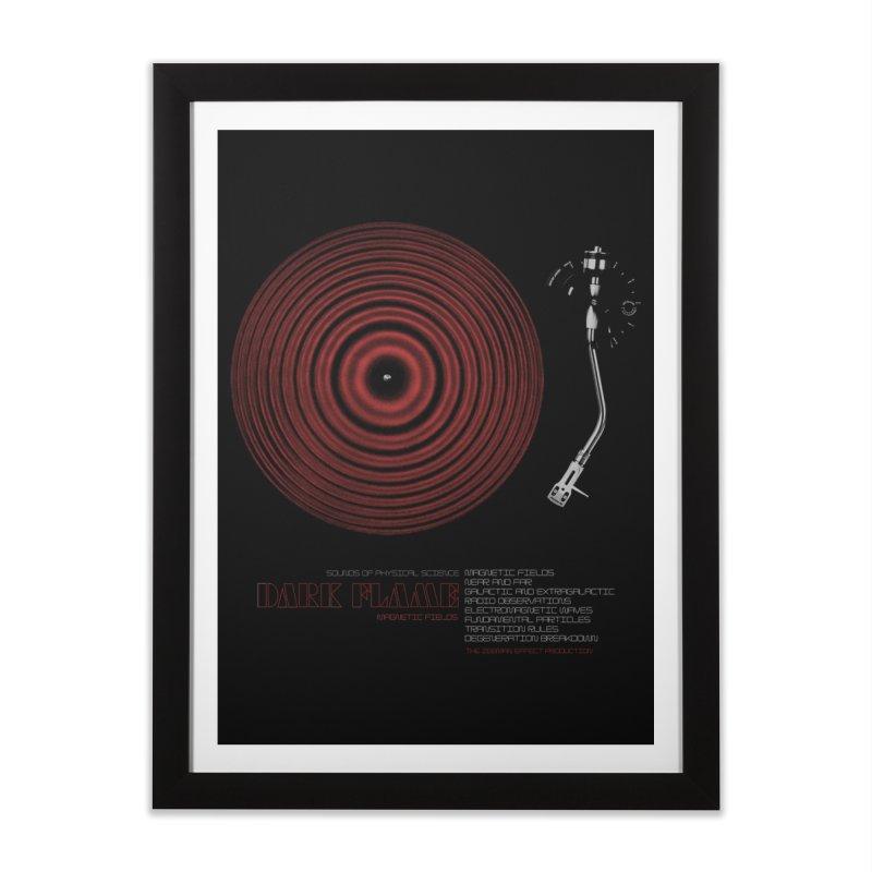 Dark Flame Home Framed Fine Art Print by bulo