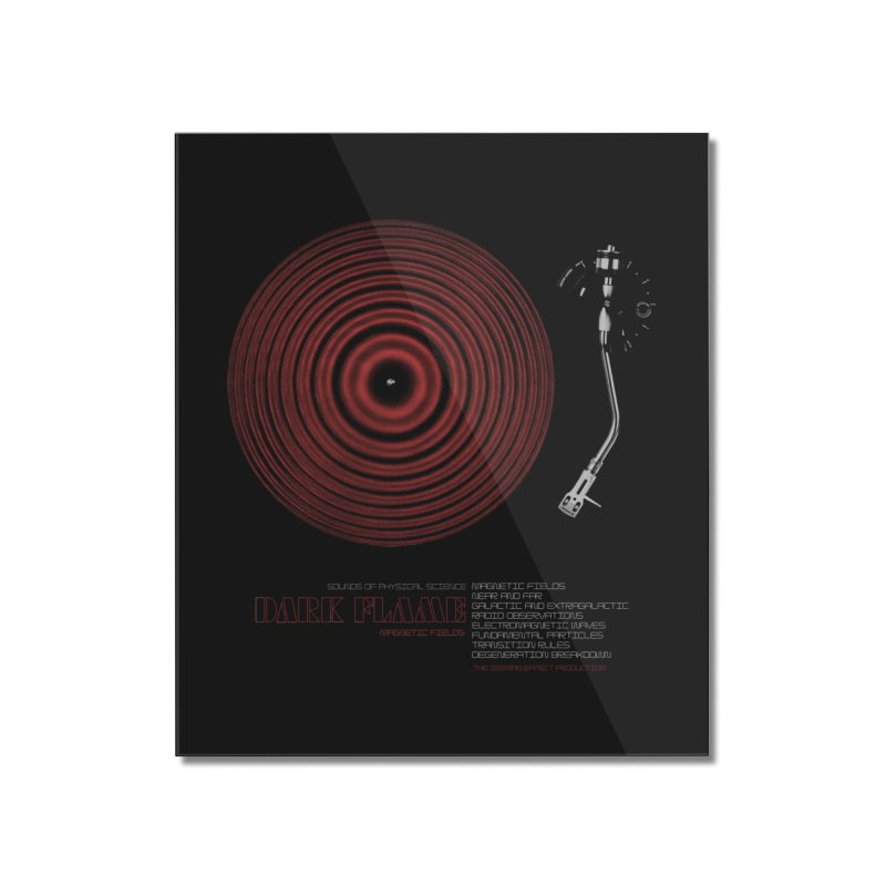 Dark Flame Home Mounted Acrylic Print by bulo