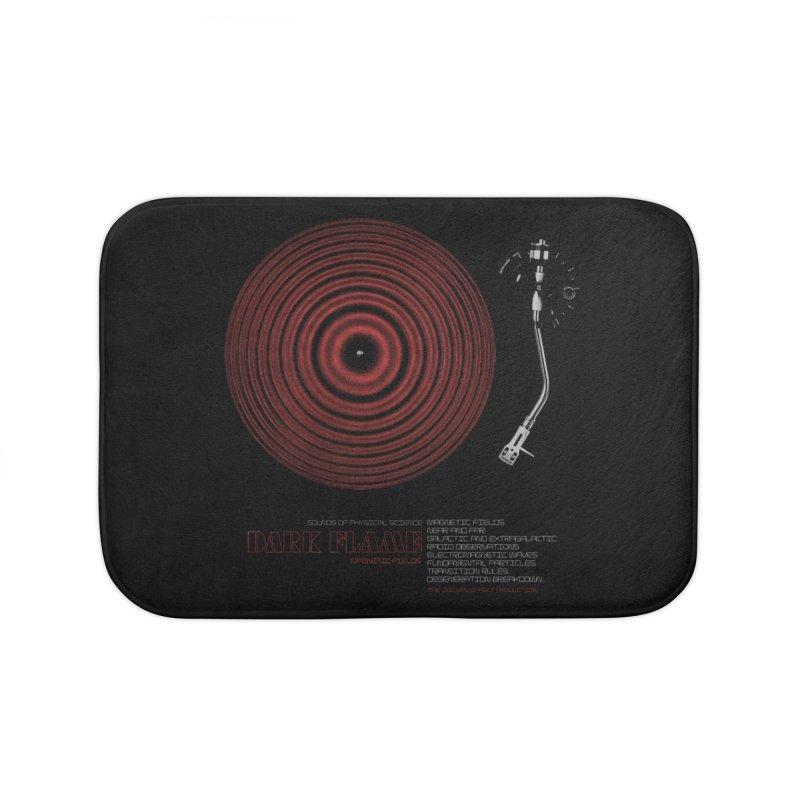 Dark Flame Home Bath Mat by bulo