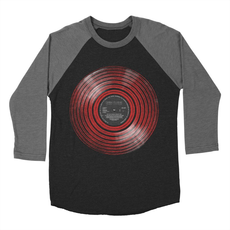 Dark Flame Vinyl Men's Baseball Triblend T-Shirt by bulo