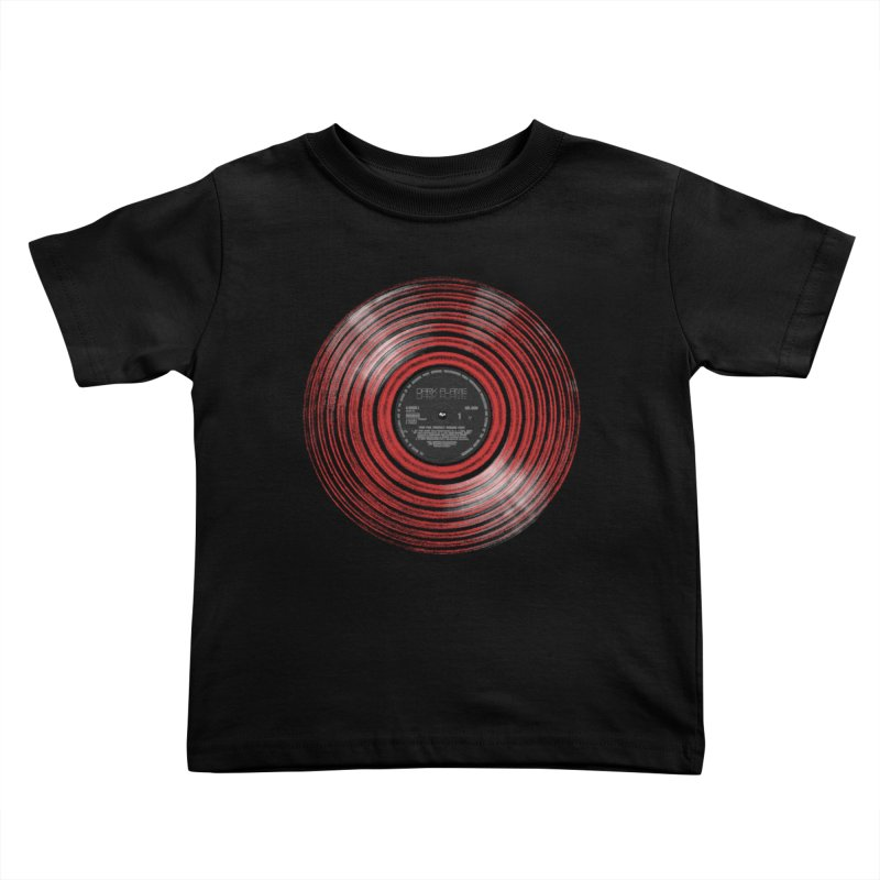 Dark Flame Vinyl Kids Toddler T-Shirt by bulo