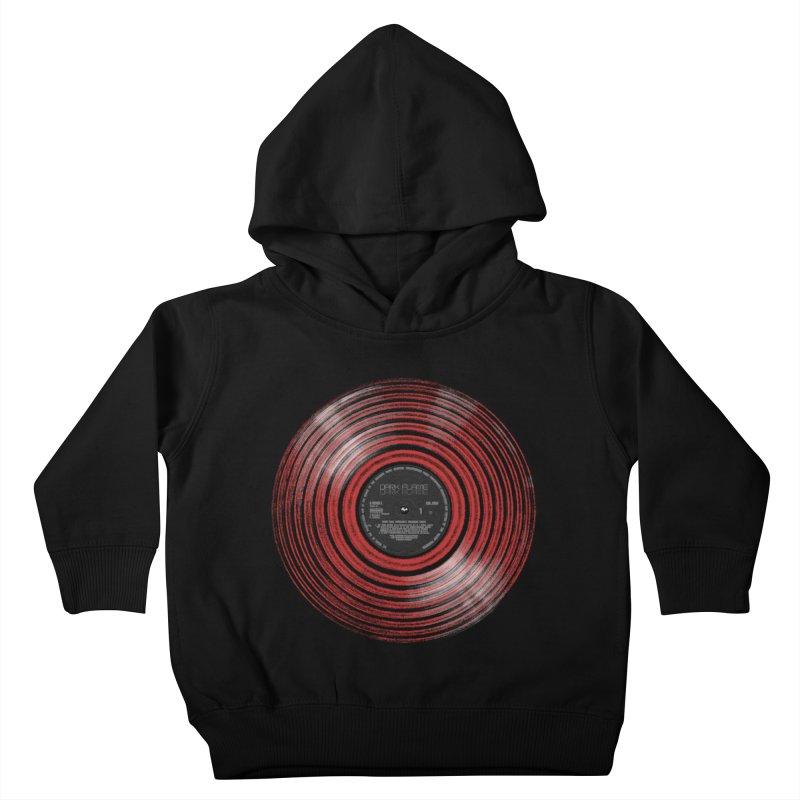 Dark Flame Vinyl Kids Toddler Pullover Hoody by bulo