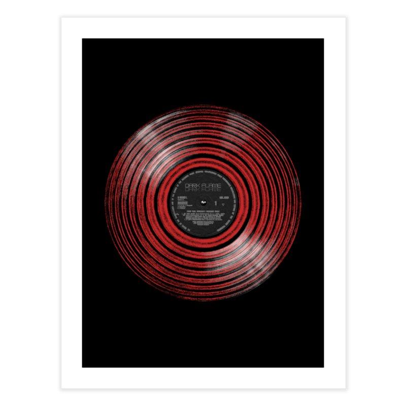 Dark Flame Vinyl Home Fine Art Print by bulo