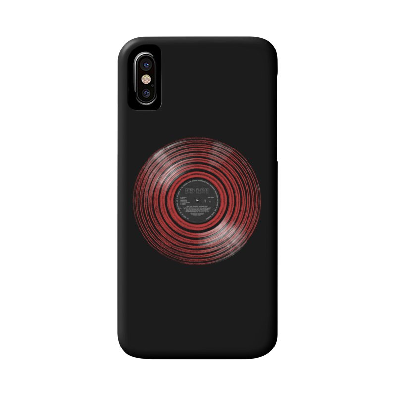 Dark Flame Vinyl Accessories Phone Case by bulo
