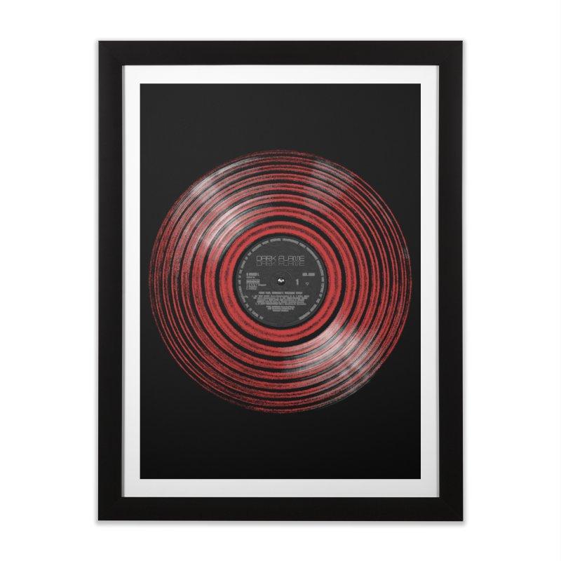 Dark Flame Vinyl Home Framed Fine Art Print by bulo