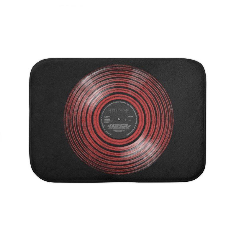 Dark Flame Vinyl Home Bath Mat by bulo
