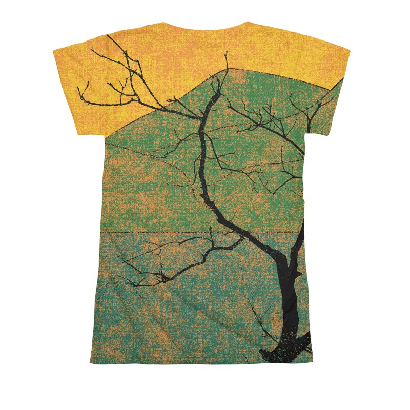 Lone Tree (rework) Women's All Over Print by bulo