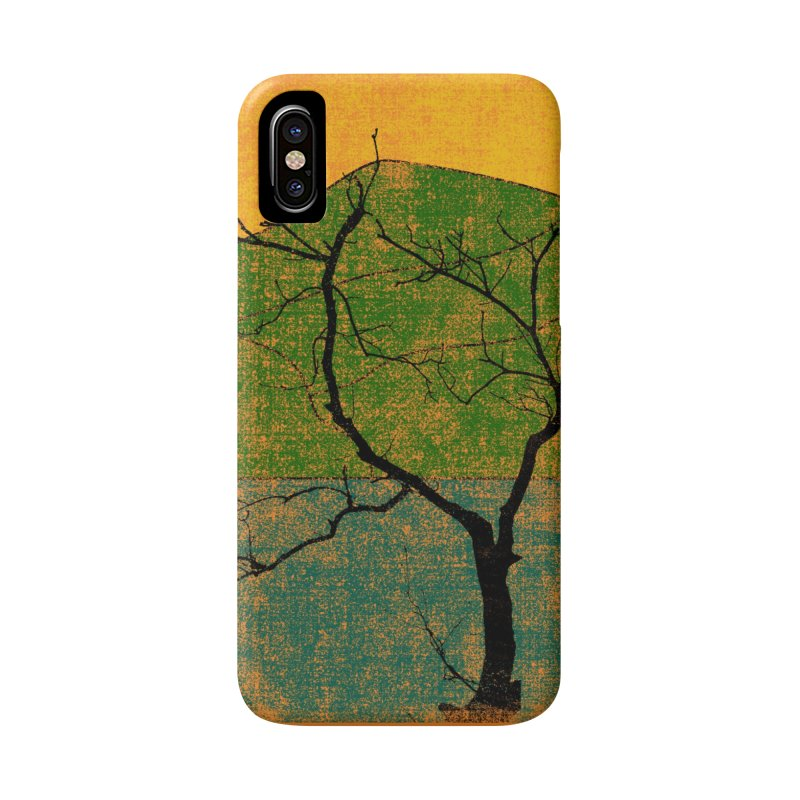 Lone Tree (rework) Accessories Phone Case by bulo