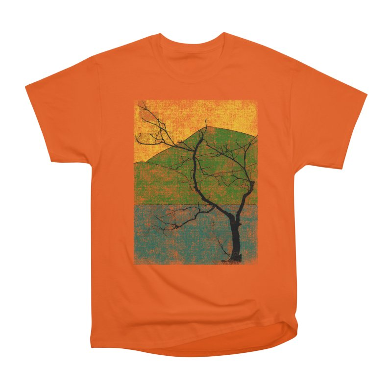 Lone Tree (rework) Men's Classic T-Shirt by bulo