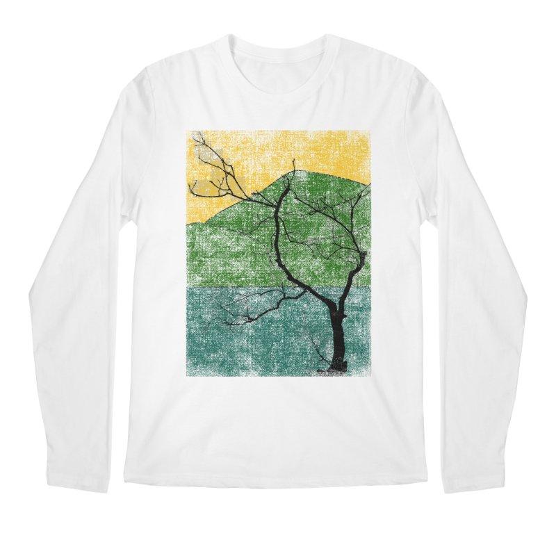 Lone Tree (rework) Men's Longsleeve T-Shirt by bulo