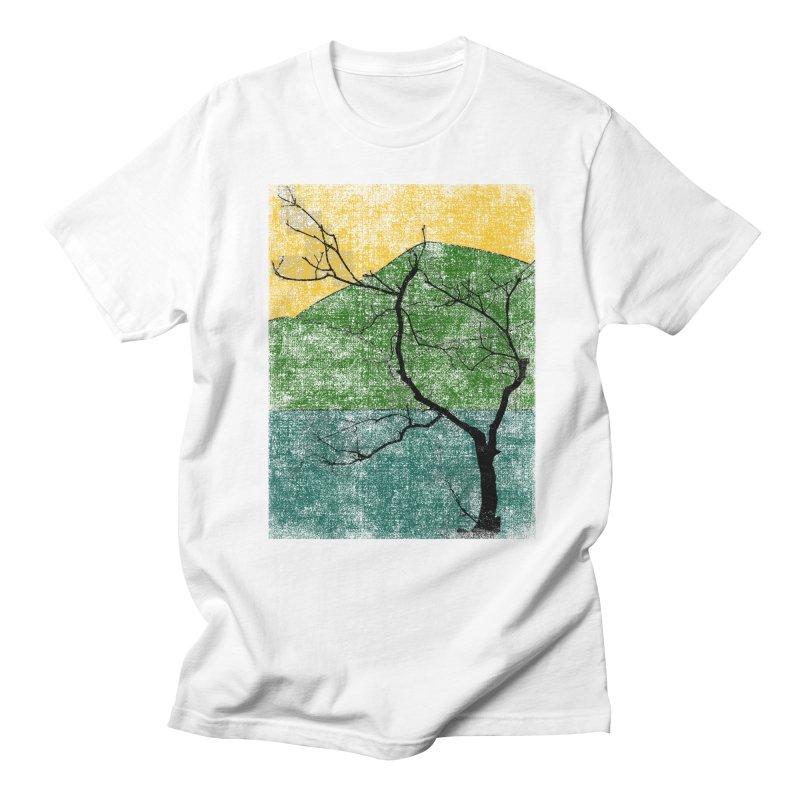 Lone Tree (rework) Men's T-Shirt by bulo
