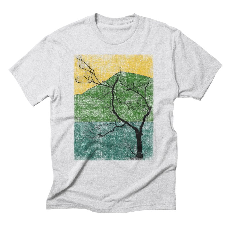 Lone Tree (rework) Men's Triblend T-Shirt by bulo