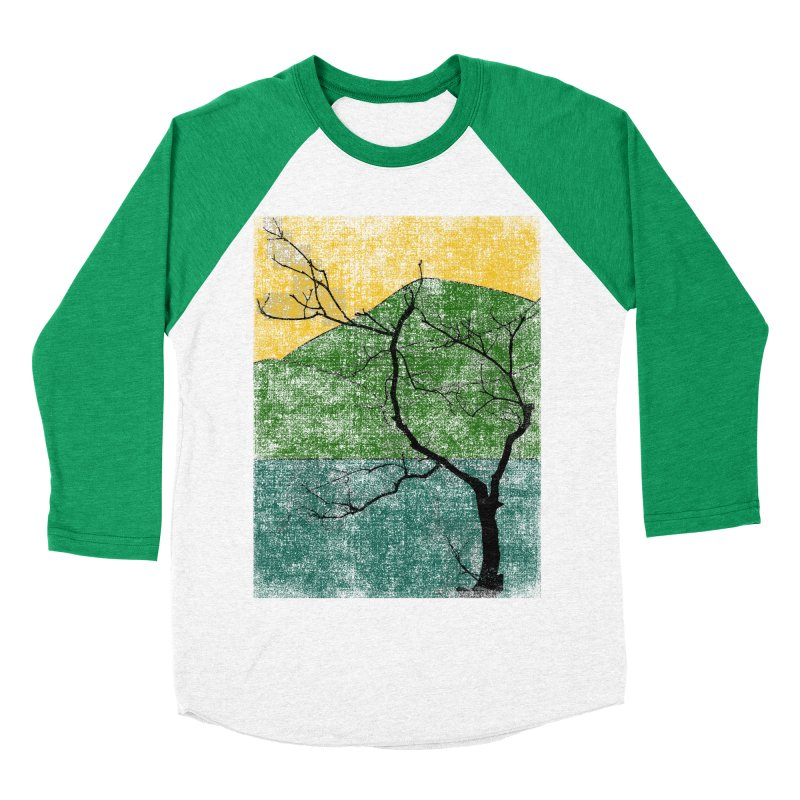 Lone Tree (rework) Men's Baseball Triblend T-Shirt by bulo