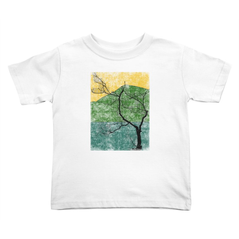 Lone Tree (rework) Kids Toddler T-Shirt by bulo