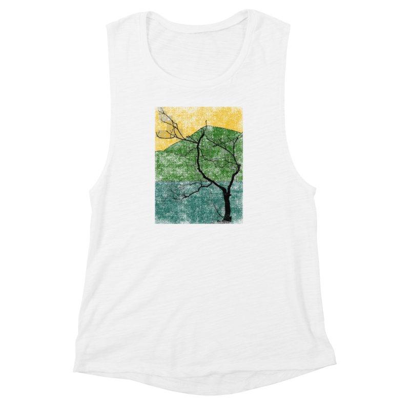 Lone Tree (rework) Women's Muscle Tank by bulo