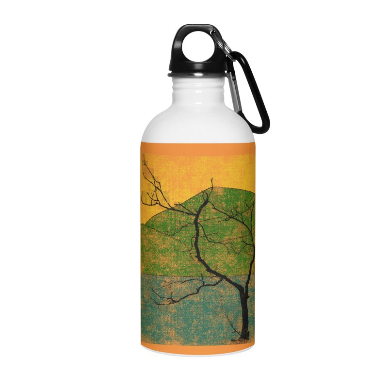 Lone Tree (rework) Accessories Water Bottle by bulo