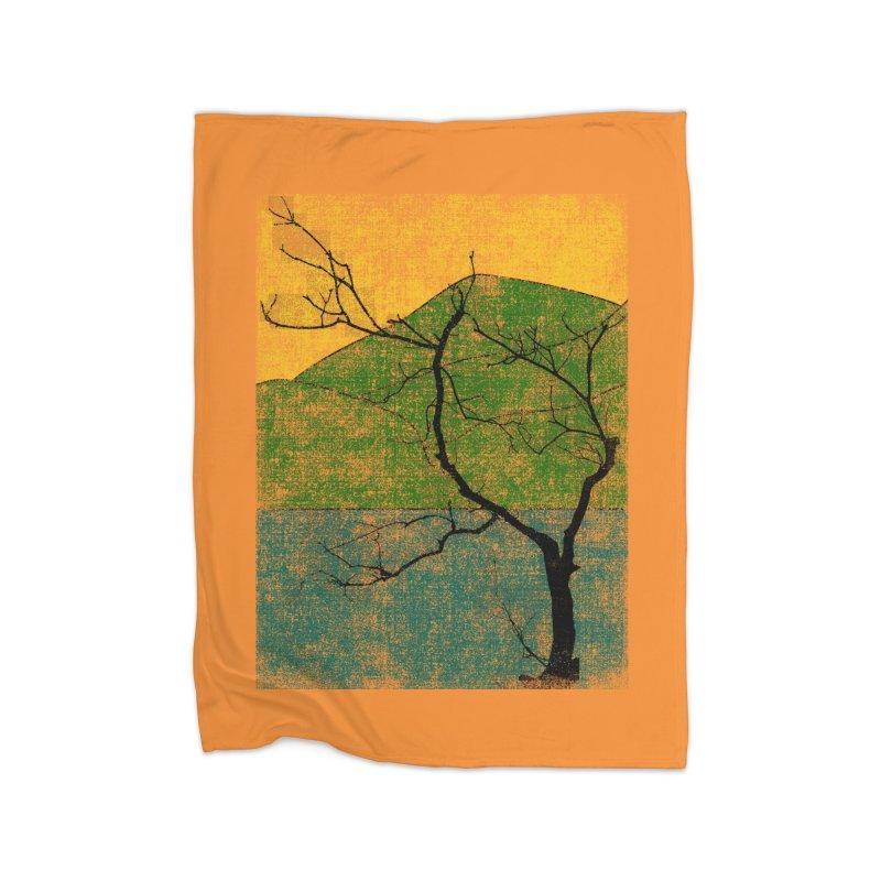 Lone Tree (rework) Home Blanket by bulo