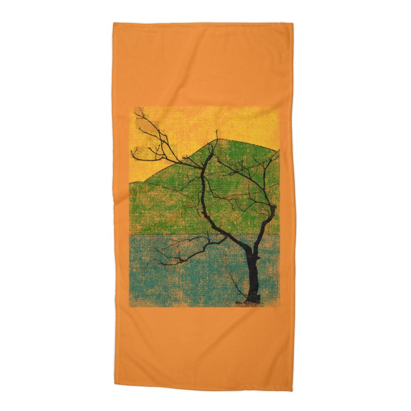 Lone Tree (rework) Accessories Beach Towel by bulo