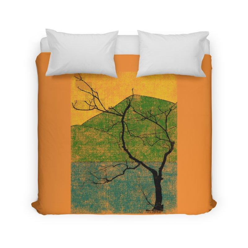 Lone Tree (rework) Home Duvet by bulo