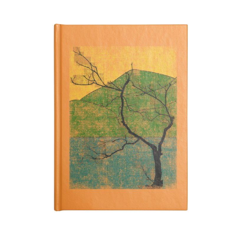 Lone Tree (rework) Accessories Notebook by bulo