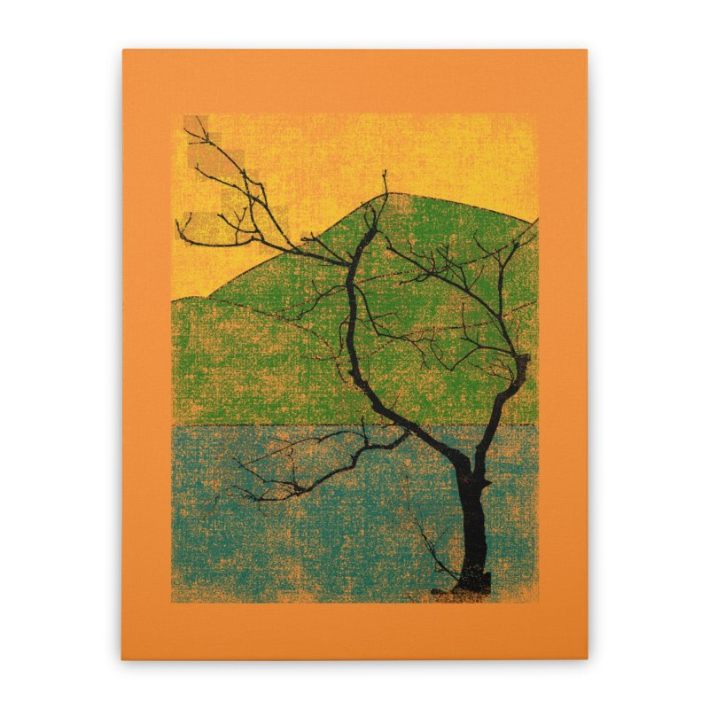 Lone Tree (rework) Home Stretched Canvas by bulo