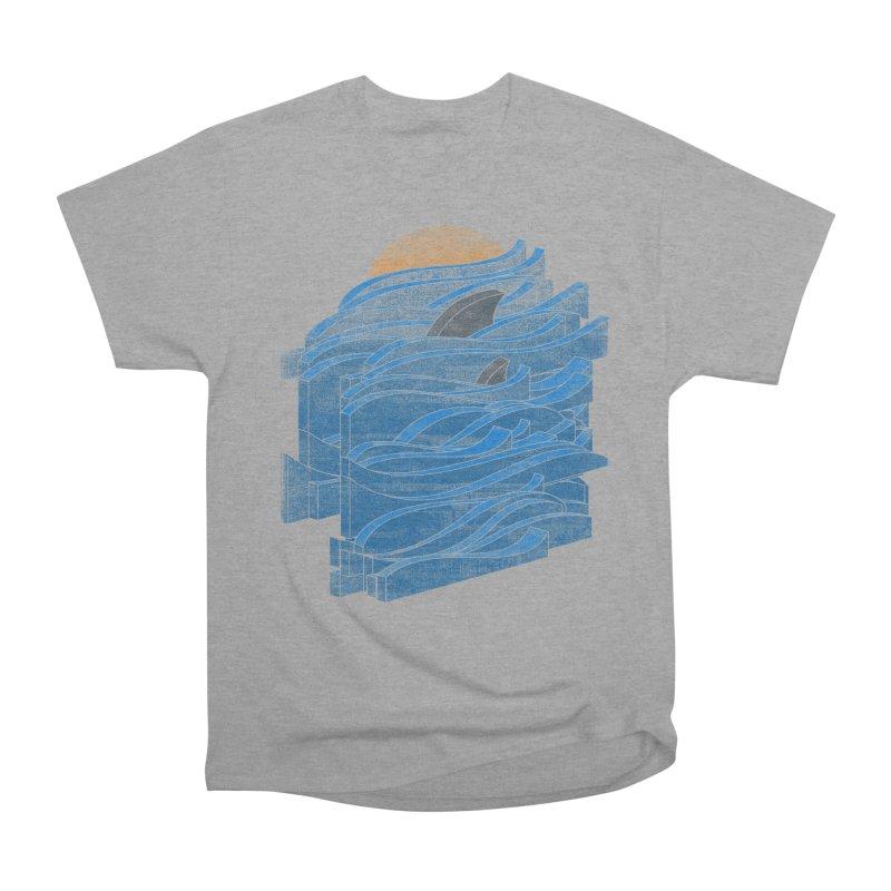 Shark Blues Men's Heavyweight T-Shirt by bulo
