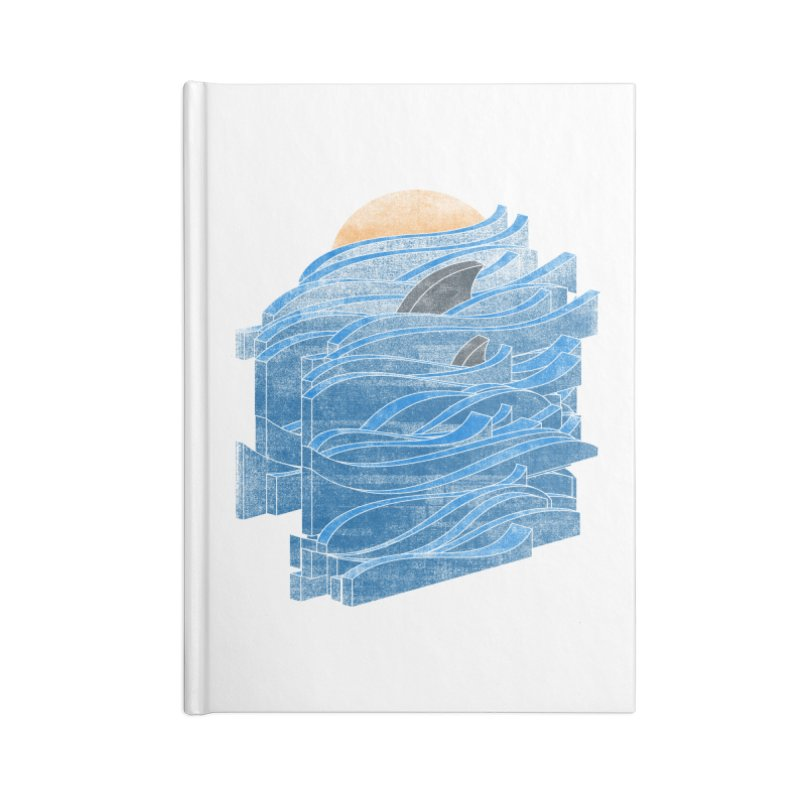 Shark Blues Accessories Notebook by bulo